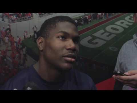 Kerryon Johnson Post-Game Interview | Auburn at Georgia 2016