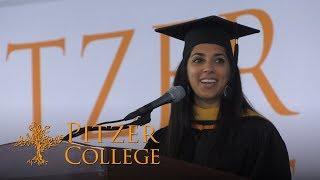 Alumni Greeting | Jahan Boulden '07 | Pitzer College 2019 Commencement