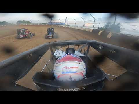 GoPro: Corey Day - USAC Midget - dirt track racing video image