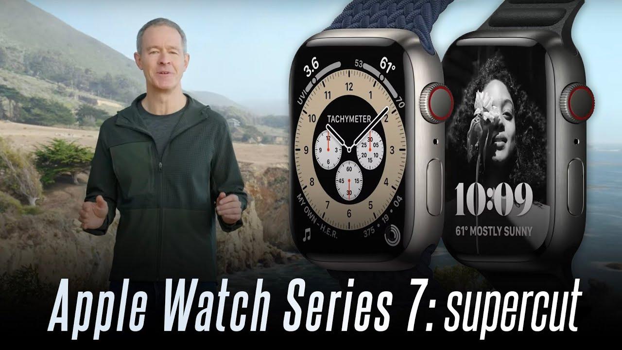 Apple Watch Series 7 event highlights (supercut)