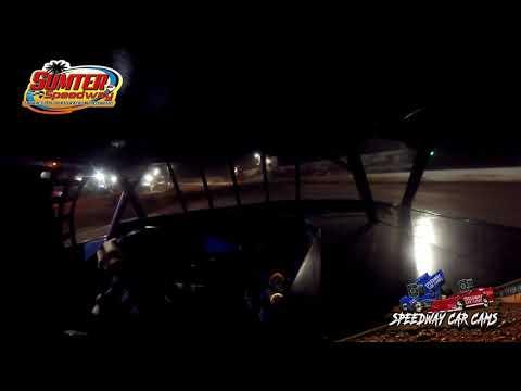 #23 Felisha Horner - Stock 8 - 9-18-21 Sumter Speedway - In-Car Camera - dirt track racing video image