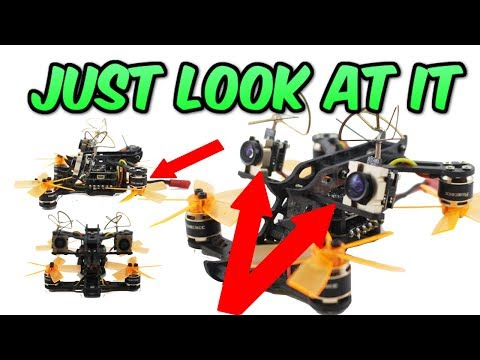 """WHAT?? STRANGEST DRONE EVER seen on UAVFUTURES. """"Horns 100"""" FPV drone review - UC3ioIOr3tH6Yz8qzr418R-g"""