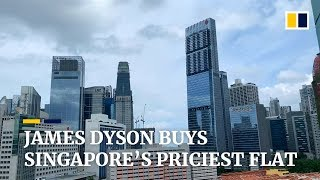 Billionaire James Dyson buys the most expensive flat in Singapore