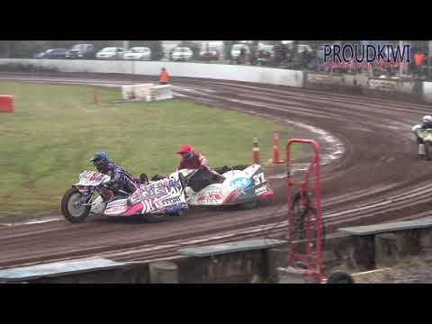 Rosebank Speedway - NORTH ISLAND SIDECAR CHAMPS - 24.01.21 (4K) - dirt track racing video image