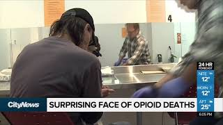 Report shows surprising face of opioid deaths