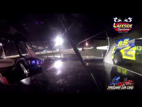 #52 Cory Janasek - USRA B Mod - 5-14-2021 Lakeside Speedway - In Car Camera - dirt track racing video image