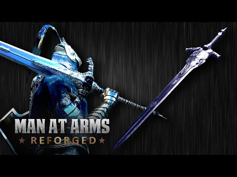 Dark Souls III Great Sword of Artorias - MAN AT ARMS: REFORGED - UCNKcMBYP_-18FLgk4BYGtfw