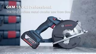 Akumetallisaag Bosch GKM 18 V-LI, L-Boxx