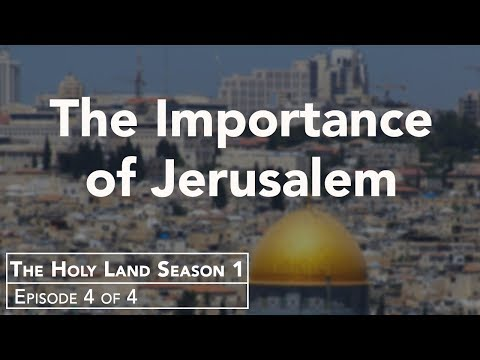 Lessons from the Holy Land