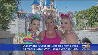 Woman Returns To Disney 34 Years After Winning Free Pass As Teen
