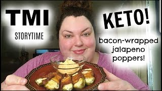 KETO JALAPENO POPPERS AND STORYTIME MUKBANG