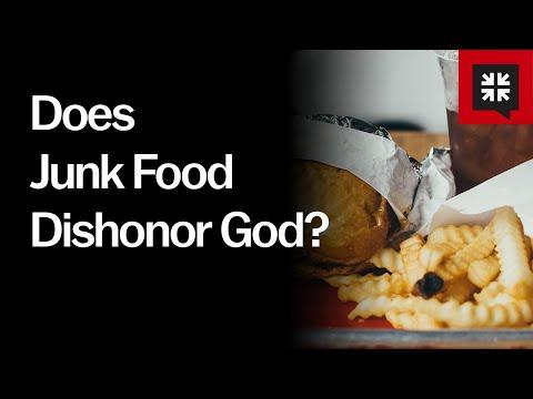 Does Junk Food Dishonor God? // Ask Pastor John