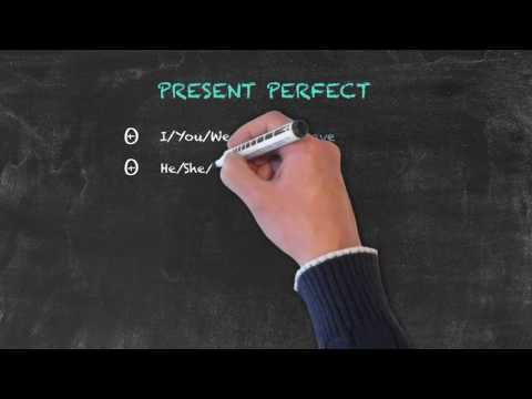Overview of All English Tenses - Present Tenses - Present Perfect - Overview