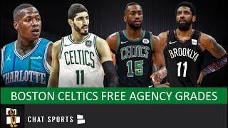 Celtics Free Agency Grades: Signing Kemba Walker + Enes Kanter & Losing Kyrie Irving + Al Horford