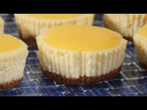 Lemon Cheesecakes Recipe Demonstration - Joyofbaking.com - UCFjd060Z3nTHv0UyO8M43mQ