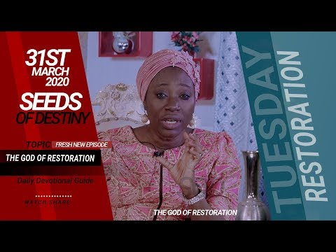 Dr Becky Paul-Enenche - SEEDS OF DESTINY  TUESDAY, 31ST MARCH 2020