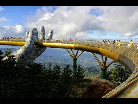 Cầu Vàng Đà Nẵng: 'đi dạo qua bàn tay của trời'