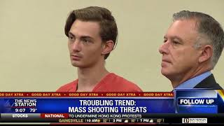 Troubling Trend: Mass shooting threats