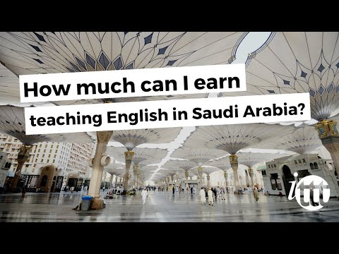 video tellin about salary expectations in Saudi Arabia