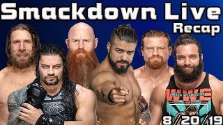 WWE SMACKDOWN LIVE 8/20/19 Roman Reigns Attacker Finally Revealed? Huge NXT Announcement