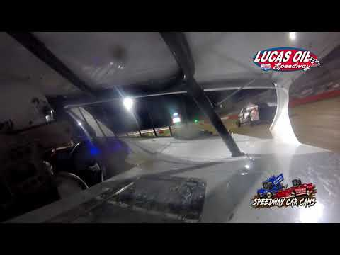 #7G Gabe Hodges - USRA B Modified - 10-7-2021 Lucas Oil Speedway - In Car Camera - dirt track racing video image