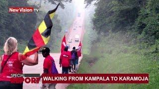 Walking from Kampala to Karamoja