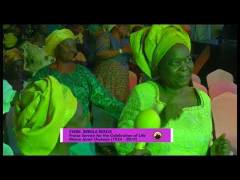 Late Ma Janet Olukoya Special Praise Service Evang Gideon