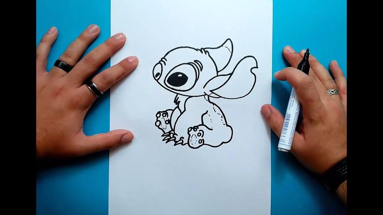 Madeheart Cuaderno De Dibujo Libreta Para Dibujar Hecho: Como Dibujar A Stitch Paso A Paso - Lilo Y Stitch