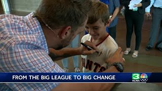 World Series champ Jeremy Affeldt shares his story to crowd in El Dorado Hills