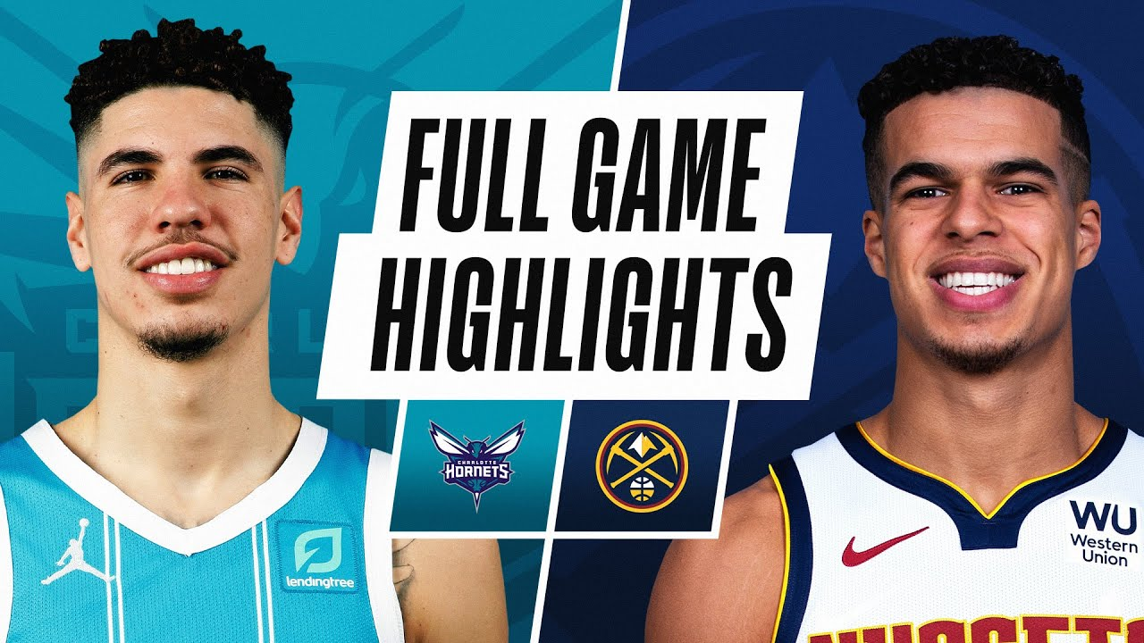 HORNETS at NUGGETS | FULL GAME HIGHLIGHTS | March 17, 2021
