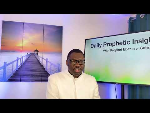 Prophetic Insight  Mar 12th, 2021