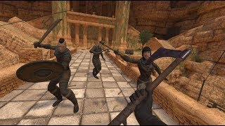 Blade & Sorcery Gameplay: Bloody Kills And Climbing Highlights On Oculus Rift S