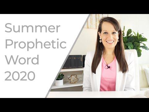 Summer Prophetic Word 2020