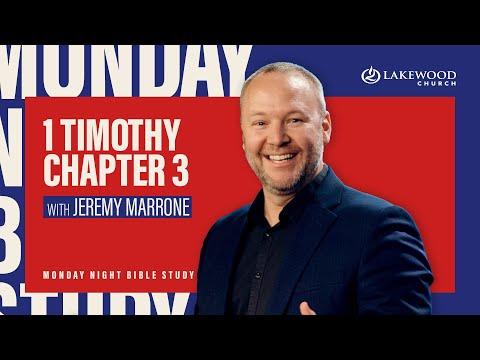 1 Timothy Chapter 3  Jeremy Marrone (2020)