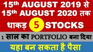 5 latest stock picks for next 1 year | multibagger shares for 2020 india | buy mid cap small cap