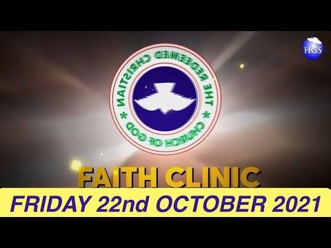 RCCG OCTOBER 22nd 2021 FAITH CLINIC