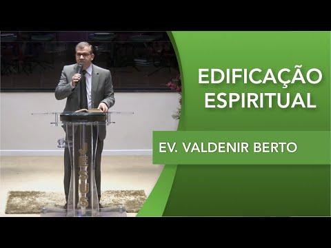 Ev. Valdenir Berto   Santidade é diferente de religiosidade   Efésios 4.17   24 09 2019