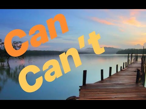 Can & Cant