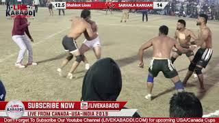 Final- SHAHKOT VS SARHALA RANANU | RURKA KALAN KABADDI CUP 2019