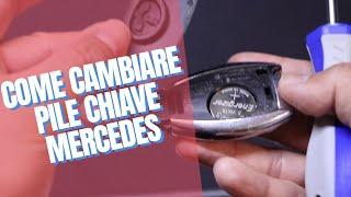 Sostituzione batteria chiave Classe A-Mercedes