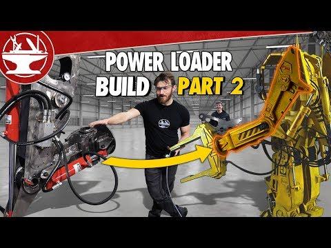 BUILDING THE MECH ARM! (POWER LOADER: PART 2) - UCjgpFI5dU-D1-kh9H1muoxQ