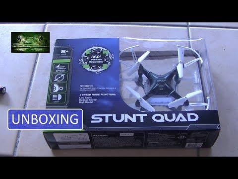 Unboxing Stunt Quad Drone - Fly and Crash and Dominoes - UCi_qFInckmVu1HANu9oycyw