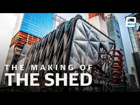 How The Shed was made: The kinetic architecture of New York's newest cultural institution - UC-6OW5aJYBFM33zXQlBKPNA