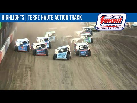 DIRTcar Summit Modifieds Terre Haute Action Track July 18, 2021 | HIGHLIGHTS - dirt track racing video image