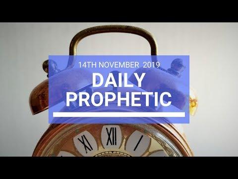 Daily Prophetic 14 November Word 2