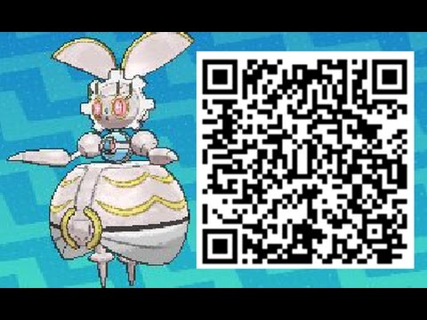 How To Obtain Magearna QR CODE Event - Pokemon Sun and Moon - default