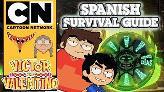 Victor and Valentino | Spanish Survival Guide | Cartoon Network UK 🇬🇧