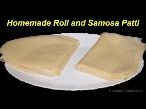 Homemade Samosa and Spring Roll Sheets - Manda Patti - Roll and Samosa Patti Special Ramadan Recipe - UCQ2P7C8UGoVM6AhqsVx-M0Q