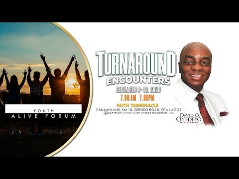 DOMI STREAM: SHILOH 2020  DAY 2  YOUTH ALIVE FORUM  TURNAROUND ENCOUNTERS  DEC. 2020