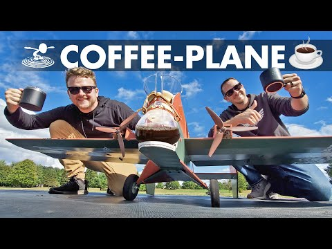 Brew Coffee Midair!? ☕️ We try to make a coffee-making plane! - UC9zTuyWffK9ckEz1216noAw